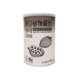 可可穀豆植物纖奶